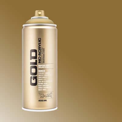 11 oz. GOLD Spray Paint, Metallic, Gold Matte