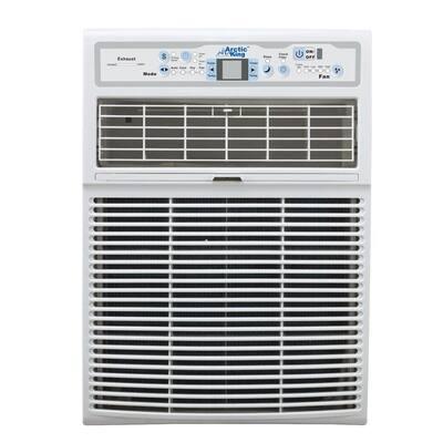 10,000 BTU 110-Volt Slide Casement Window Air Conditioner and Remote