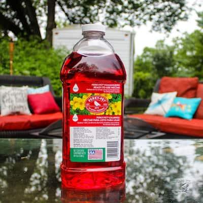 64 oz. Red Ready-to-Use Hummingbird Nectar