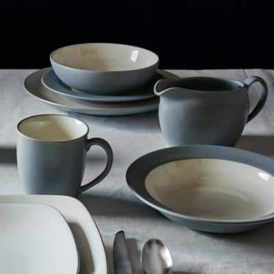 Colorwave Slate Grey  Stoneware Cereal/Soup Bowl 7 in., 22 oz.
