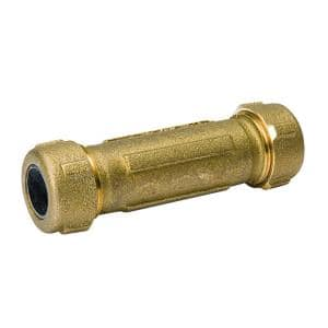 2 in. Brass Compression Coupling No Lead