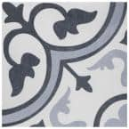 Amberes Azul II 13 in. x 13 in. Ceramic Floor and Wall Tile (48 Cases/760.8 sq. ft./Pallet)