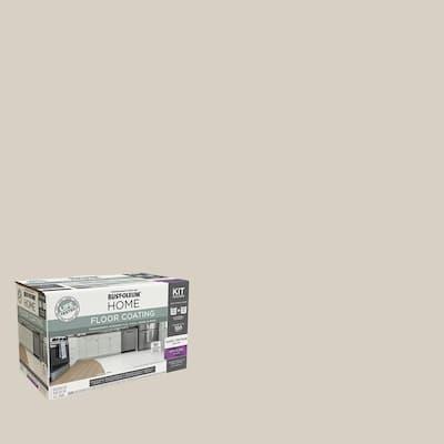 1 qt. Vanilla Milkshake Interior Floor Base Semi-Gloss Clear Coating Kit