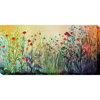24 in. x 48 in. Playful Outdoor Canvas Art