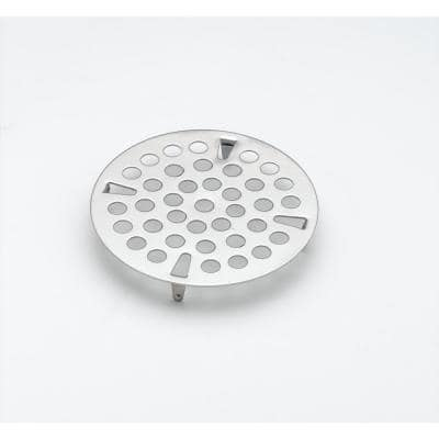 3 in. Flat Strainer Stainless Steel