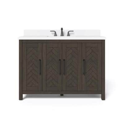 Home Decorators Collection Leary 36 In, Home Depot Bathroom Furniture