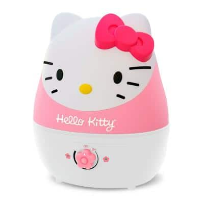 1 Gal. Adorable Ultrasonic Cool Mist Humidifier for Medium to Large Rooms up to 500 sq. ft. - Hello Kitty