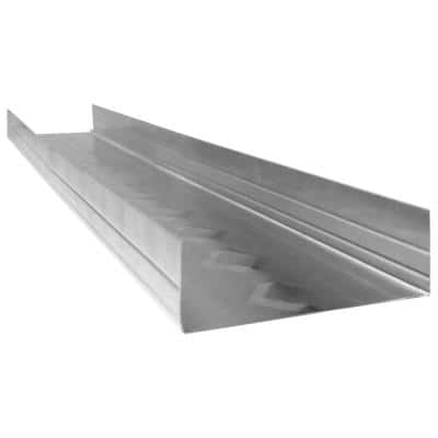 ProTRAK 25 1-1/4 in. x 3-5/8 in. x 10 ft. Galvanized Steel Track