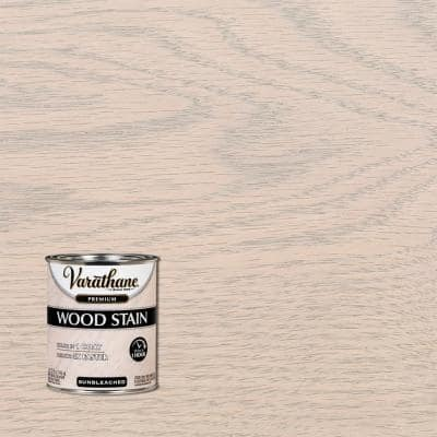 1 qt. Sunbleached Premium Fast Dry Interior Wood Stain (2-Pack)