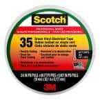 3/4 in. x 66 ft. x 0.007 in. #35 Vinyl Electrical Tape, Green