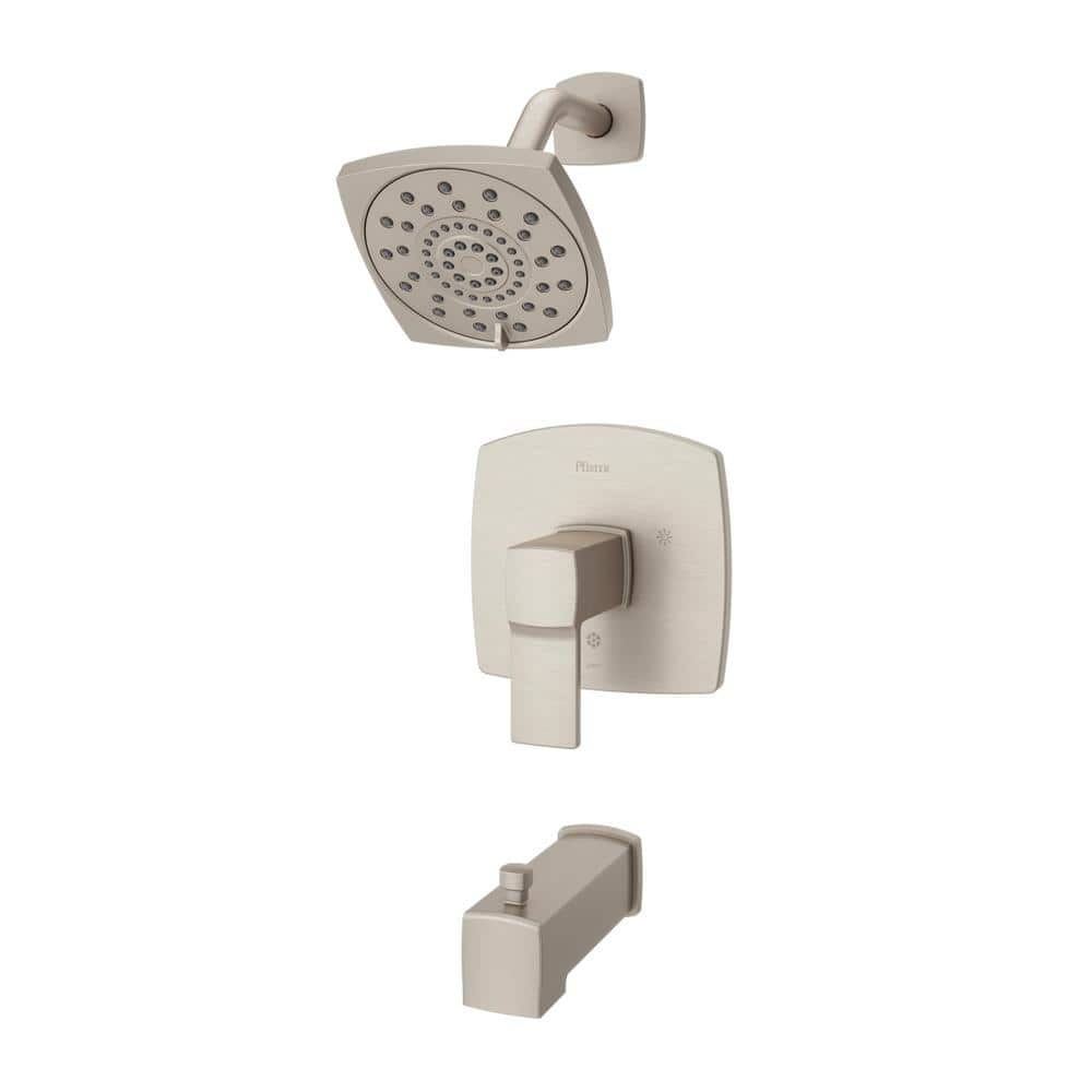 Details about  /Pfister LG89-8DAB Deckard Tub and Shower Trim Kit Single Handle Matte Black