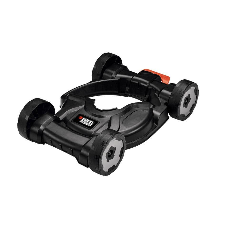 BLACK+DECKER Removable Wheeled Deck for 12 in. Electric Straight Shaft Single Line 3-in-1 String Grass Trimmer/Lawn Edger/Push Mower