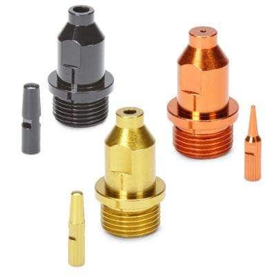 Spray Tip Multi Pack in Orange, Yellow and Black Super Finish Max (3-Pack)