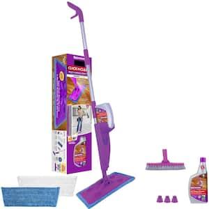 Click n Clean Multi-Surface Microfiber Spray Mop
