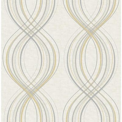Jeannie Weave Paper Strippable Roll (Covers 56 sq. ft.)