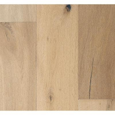 French Oak Delano 3/8 in. T x 6-1/2 in. Wide x Varying Length Eng Click Hardwood Flooring (945.50 sq. ft. / pallet)