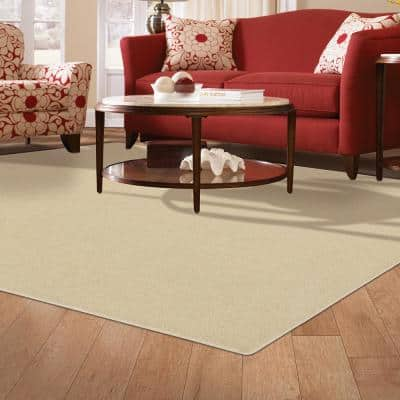 Pattern Perry Appaloosa Texture 9 ft. x 12 ft. Bound Carpet Rug