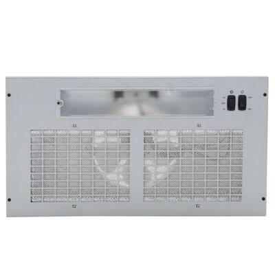 20.5 in. 250 CFM Power Pack for Custom Range Hood in Silver