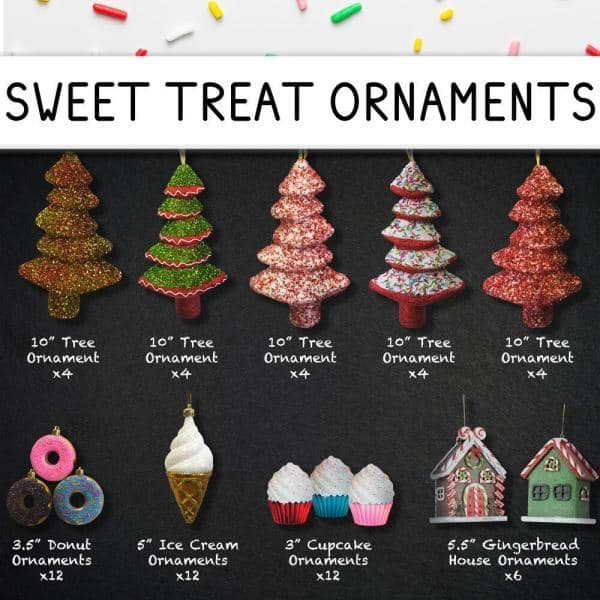 Fraser Hill Farm Home For The Holidays Christmas Gingerbread Ornament And Decor Set 152 Piece Fforn0152 Gb The Home Depot