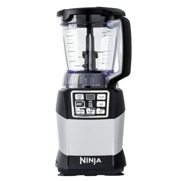 NINJA - Nutri Auto-iQ 40 oz. 5-Speed Black Blender with Travel Cups (BL492W)