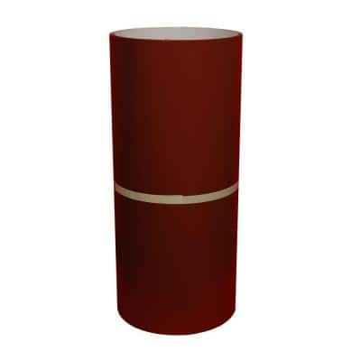 24 in. x 50 ft. Autumn Red and White Aluminum Trim Coil