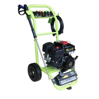2800 PSI 2.0 GPM Axial Pump Gas Pressure Washer, CARB Approved