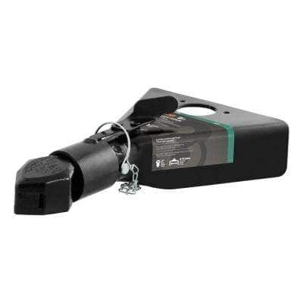 "2"" A-Frame Coupler with Sleeve-Lock (7,000 lbs., Black)"