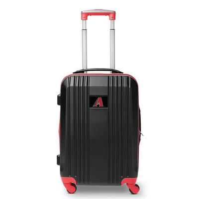 MLB Arizona Diamondbacks 21 in. Red Hardcase 2-Tone Luggage Carry-On Spinner Suitcase