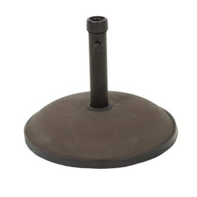 Harrison 35 lbs. Concrete Patio Umbrella Base in Brown