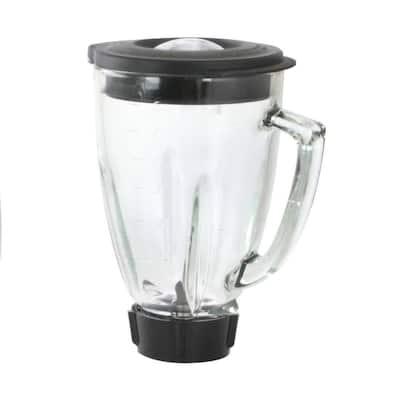 6-Piece 48 oz. Round Blender Glass Jar Replacement Kit