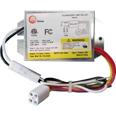 120-Volt 4.13 in. Electronic Ballast 1 Lamp FC8T9/T5