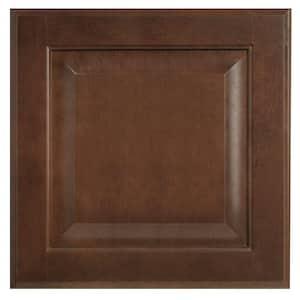 Hampton 14.5 x 14.5 in. Cabinet Door Sample in Cognac