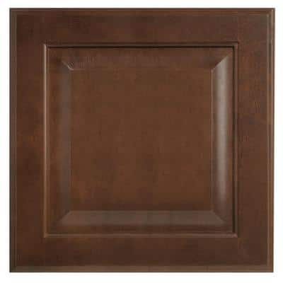 Hampton 14.5 x 14.5 in. Cabinet Door Sample in Cognac