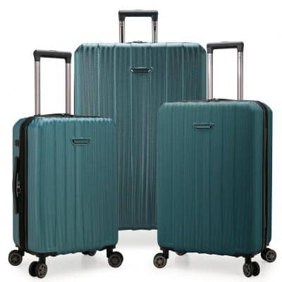Dana Point 3-Piece Spruce Expandable Hardshell Set with USB Port