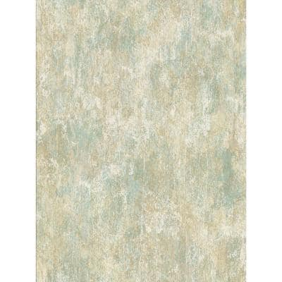 Bovary Multicolor Distressed Texture Multicolor Wallpaper Sample