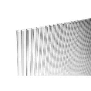 48 in. x 96 in. x 0.236 in. Thermoclear Multiwall Polycarbonate Sheet