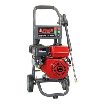 2,700 PSI 2.3 GPM Gas Pressure Washer