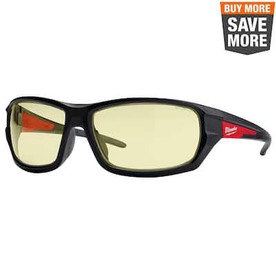Yellow Performance Safety Glasses Fog-Free Lenses