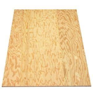 Sanded Plywood (FSC Certified) (Common: 11/32 in. x 4 ft. x 8 ft.; Actual: 0.322 in. x 48 in. x 96 in.)