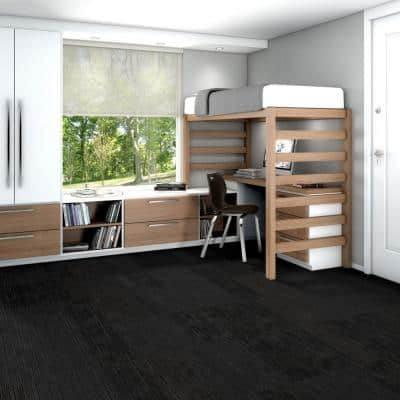 Freeform Shadowy Loop Pattern Commercial 24 in. x 24 in. Glue Down Carpet Tile (20 Tiles/Case)