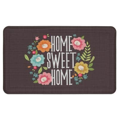 Home Sweet Home 18 in. x 30 in. Kitchen Mat