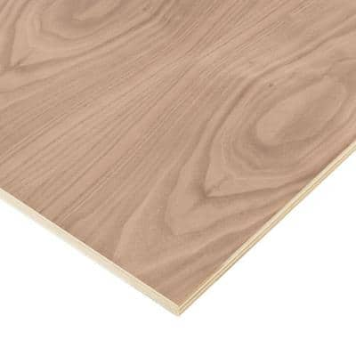3/4 in. x 2 ft. x 8 ft. PureBond Walnut Plywood Project Panel (Free Custom Cut Available)
