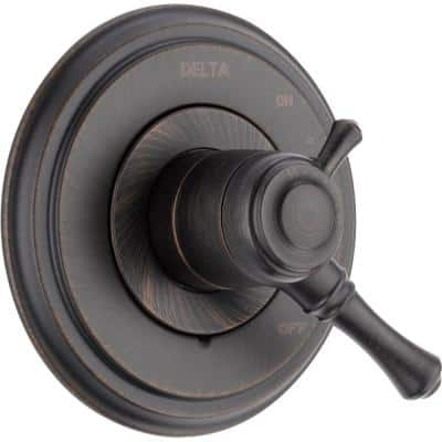 Cassidy 1-Handle Volume/Temperature Control Valve Trim Kit in Venetian Bronze (Valve Not Included)