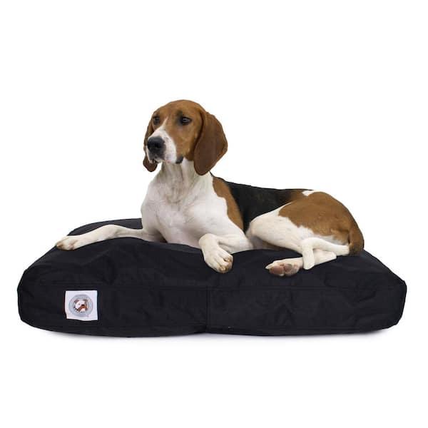 Carolina Pet Company Large Black Brutus Tough Chew Resistant Pet Bed 05331 The Home Depot