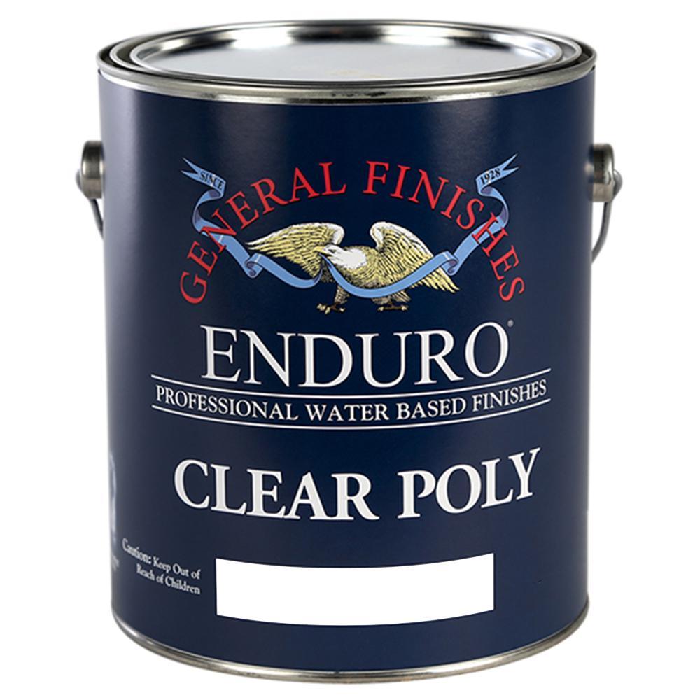 1 gal. Flat Enduro Clear Poly Interior Topcoat