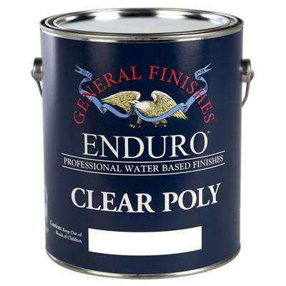 1 gal. Gloss Enduro Clear Poly Interior Topcoat