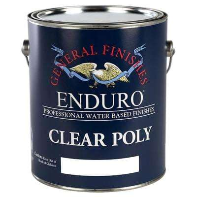1 gal. Semi-Gloss Topcoat Clear Interior Stain Poly