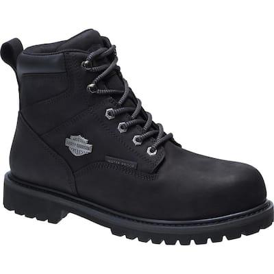 Gavern Men's 10.5 Black Composite Toe Boot