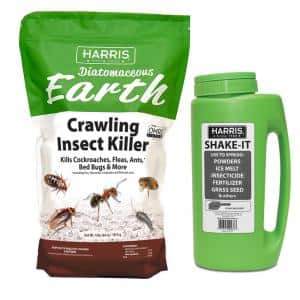 64 oz. Diatomaceous Earth Crawling Insect Killer with Shaker Applicator