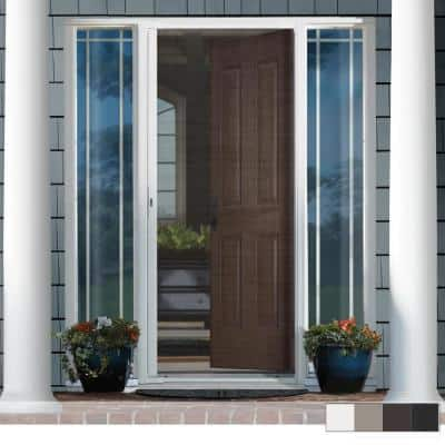 LuminAire Single Retractable Screen Door